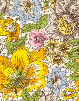 Floral Anthem C - Champions - Liberty Tana Lawn - Ava & Neve